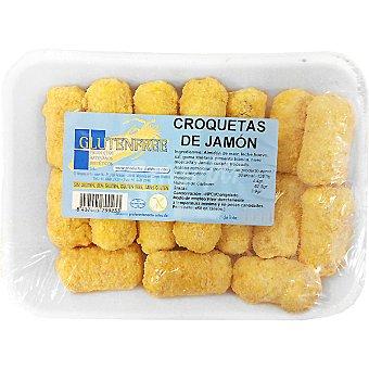 GLUTENFREE Croquetas de jamón sin gluten 17 unidades envase 450 g 17 unidades