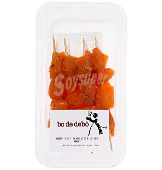 Bo de Debò Brocheta pollo x 4 300 GRS