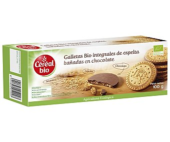 Cereal Bio Galletas integrales espelta choco bio 100 g