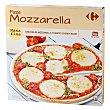 Pizza masa fina mozzarella, tomates cherry, edam 340 g Carrefour