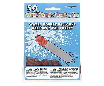 UNIQUE Globos de agua modelo Torpedo 50 unidades