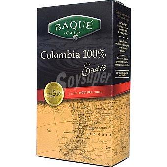 Baqué Café molido 100% Colombia Caja 250 g