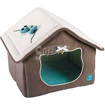 Bobby modelo Maison Noces casa para gato color taupe  1 unidad