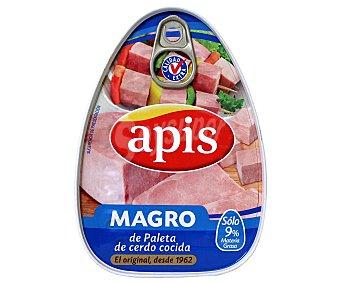 APIS Magro de cerdo cocido lata 220 g neto escurrido