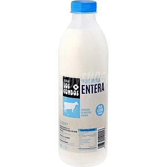Los Combos Leche fresca entera pasteurizada Botella 1 l