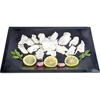 Migas de bacalao saladas