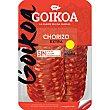 Chorizo extra dulce en lonchas sin gluten Envase 80 g Goikoa