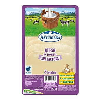Central Lechera Asturiana Queso en barra loncheado 120 g