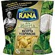 Ravioli Ricotta de espinaca granfinezza Bolsa 250 g Rana