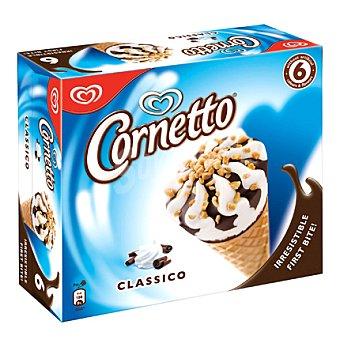 Frigo Cornetto Conos de nata 'cornetto Clásico' 6x90 ml