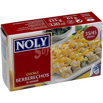 Noly Berberechos de Holanda al natural lata 65 g neto escurrido 35-45 piezas Lata 65 g neto escurrido