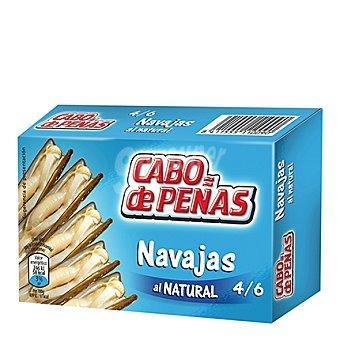 Cabo de Peñas Navajas al natural 6/8 60 g