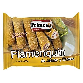 Frimesa Flamenquín de jamón y queso 4 ud