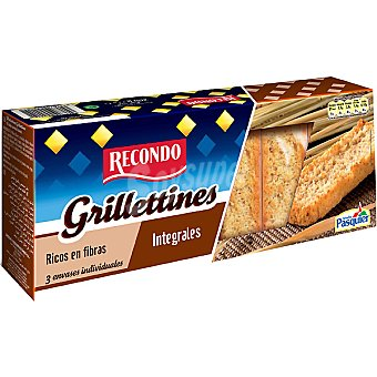 Recondo Grillettines integrales rico en fibra Paquete 230 g