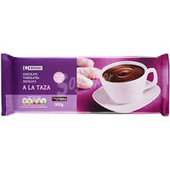 Eroski Chocolate a la taza Tableta 300 g