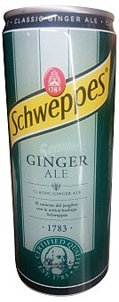 SCHWEPPES Ginger Ale LATA 330 cc