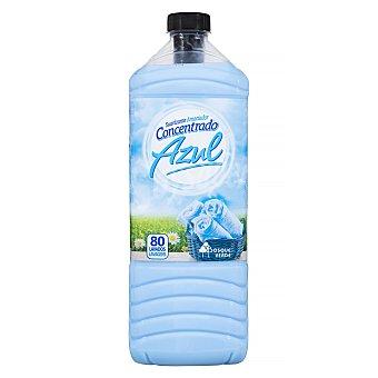 Bosque Verde Suavizante ropa concentrado azul (larga duración) (80 lavados) Botella 2 l