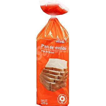 Aliada pan de molde blanco Bolsa 475 g