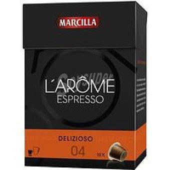 L'Arôme Espresso Marcilla Cápsulas Delizioso 70u