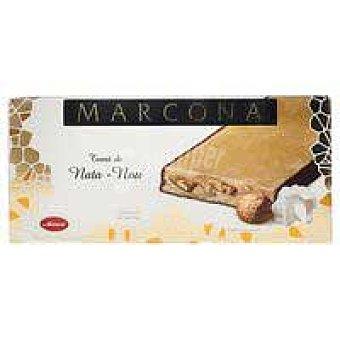 Marcona Turrón de nata-nueces marcona Caja 250 g