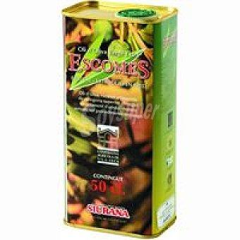 ESCOMES Aceite de oliva virgen Siurana Lata 50 cl