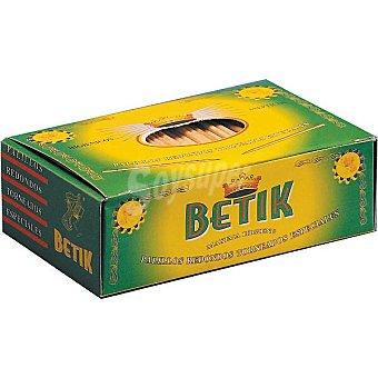 Betik Palillos redondos torneados Caja 850 unidades