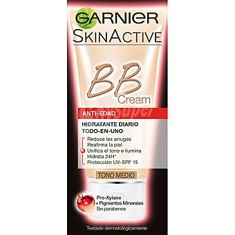 Skin Naturals Garnier Cream Perfeccionador Prodigioso anti-edad todo en uno con un toque de color medio tubo 30 ml Tubo 30 ml