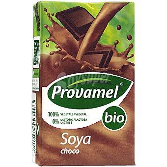 SANTIVERI PROVAMEL Bio Bebida de soja sabor chocolate ecológica envase mini Brik 25 cl