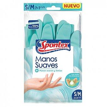 Spontex Guantes Manos Suaves spontex S/M - Azul