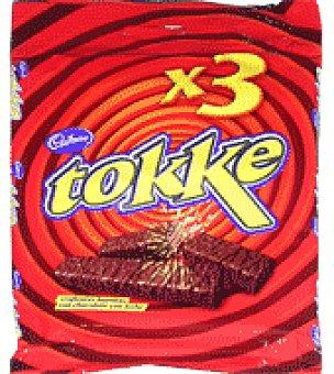 Tokke Barritas con chocolate con leche 47 g