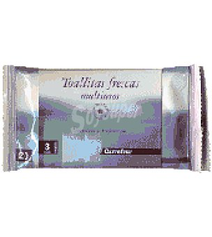 Carrefour Toallitas frescas multiusos Pack de 3x20 ud