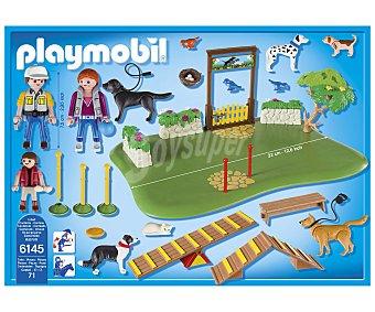 Playmobil Escenario de juego Superset Parque de perros, incluye 3 figuras, City Life 6145 1 unidad