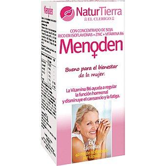 NATURTIERRA Menoden Ayuda a regular la función hormonal 60 cápsulas envase 150 g 60 c