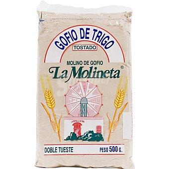 LA MOLINETA Gofio de trigo tostado con sal bolsa 500 g Bolsa 500 g