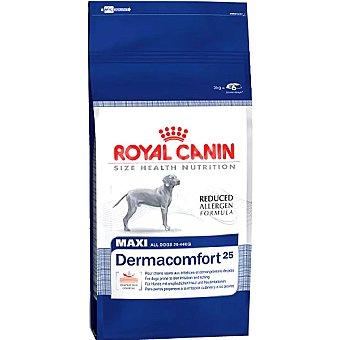 Royal Canin Alimento especial para perros propensos a irritación cutánea Maxi Dermacomfort Bolsa 12 kg