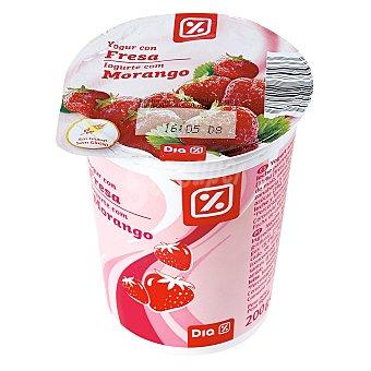 DIA Yogur con fresa Envase 200 gr