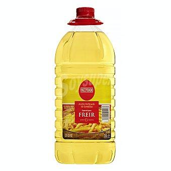 Hacendado Aceite semillas freir tapón rojo Garrafa 5 l