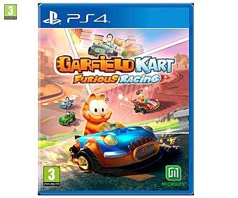 Microids Videojugo Garfield Kart Furuous Racing para Playstation 4. Género: carreras. pegi: +3