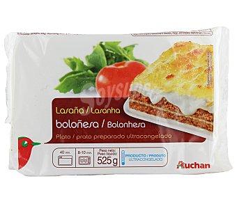 Auchan Lasaña a la boloñesa 525 gr