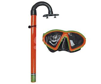 EURASPA Set de buceo compuesto por tubo y gafas 1 unidad