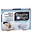 Tira Nasal Transparente grandes 10 ud Breathe Right