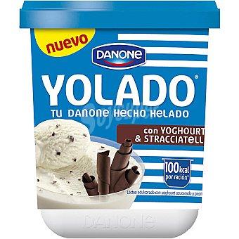 Yolado Danone tu Danone hecho helado co yogur y stracciatella Envase 313 g