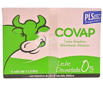 Covap Leche Desnatada 6x1L