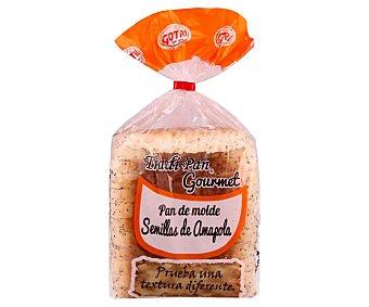 Gotri Pan de molde con semillas de amapola 450 g
