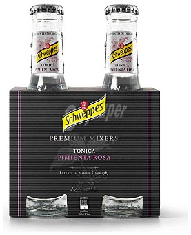 Schweppes Schweppes Tónica Pimienta Rosa Pack 4x20cl