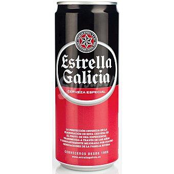 Estrella Galicia Cerveza especial Lata de 33 cl