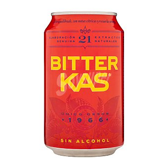Bitter Kas Refresco amargo sin alcohol Lata 33 cl