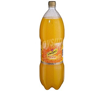 Schweppes Refresco de naranja botella 2 l