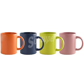 QUID New Happy mug de gres en colores surtidos 32 cl