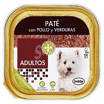 Bobby Comida perro pate pollo verduras adulto razas pequeñas Tarrina 150 g